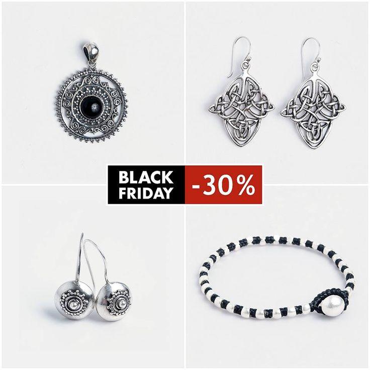 📢 📢 Astăzi ai peste 30% REDUCERE la bijuteriile tale preferate! 💘💘💘 #metaphora #blackfriday #silverjewelry