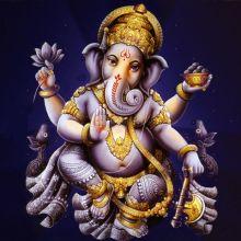 Ilustraciones coloridas de dioses y deidades hindúes 1