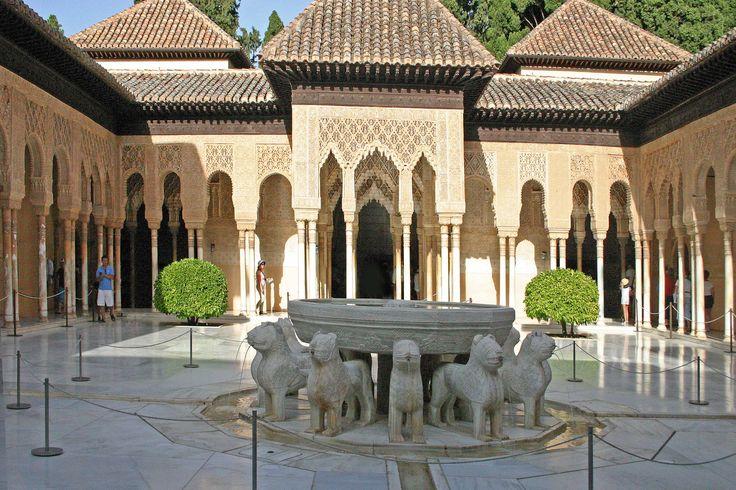 Patio de los Leones Alhambra de Granada