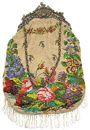 The history of the beaded bag