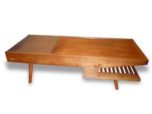 Elegant Mid Century Modern Coffee Table Book