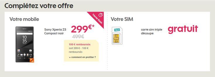 Vente flash : Le Sony Xperia Z5 Compact à 299 euros - http://www.frandroid.com/marques/sony/356766_vente-flash-sony-xperia-z5-compact-a-299-euros  #Bonsplans, #Smartphones, #Sony, #Telecom
