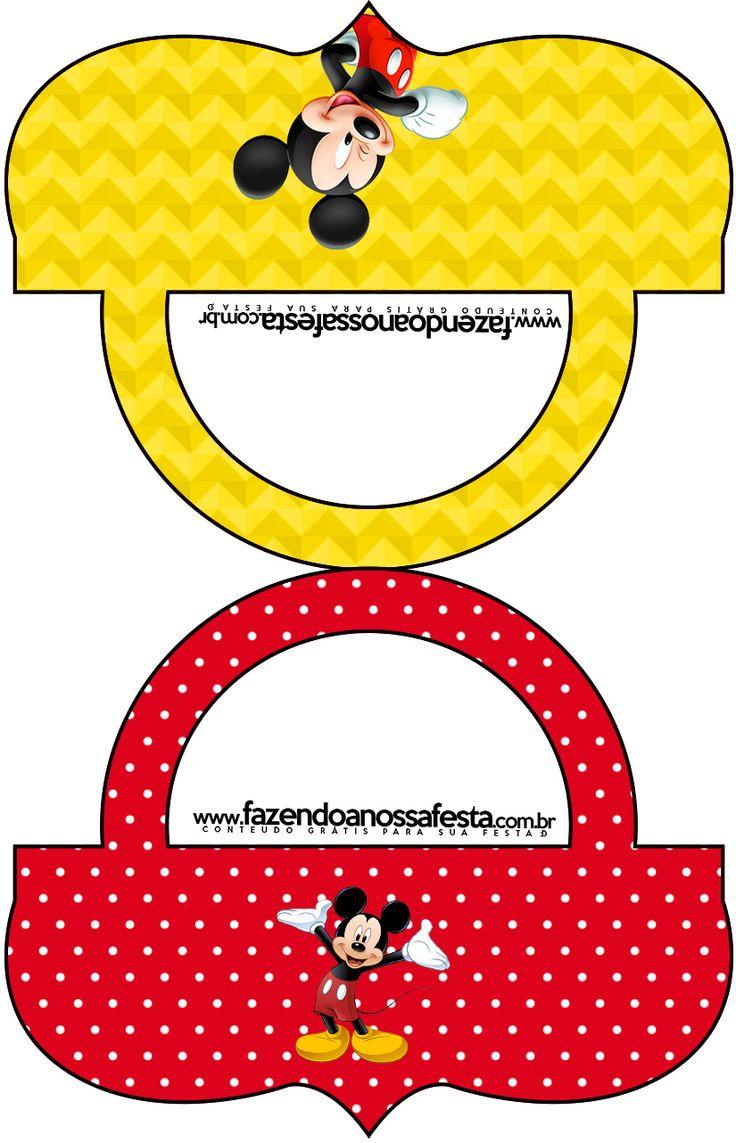 Saquinho de Balas Mickey: