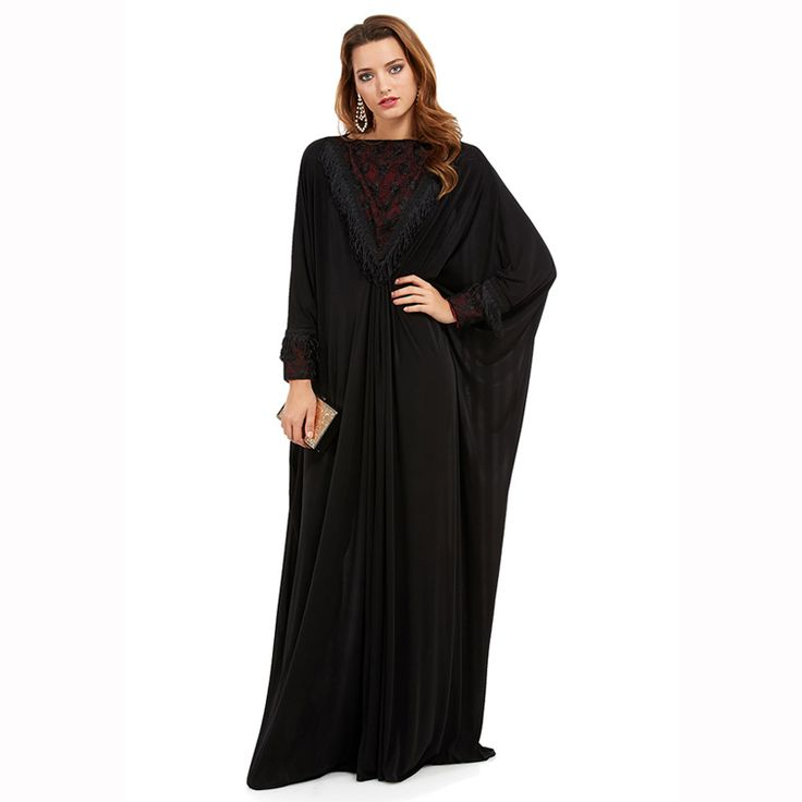 plus size S~4XL quality latest elegant abaya kaftan islamic  clothing fashion muslim dress design women black dubai abaya