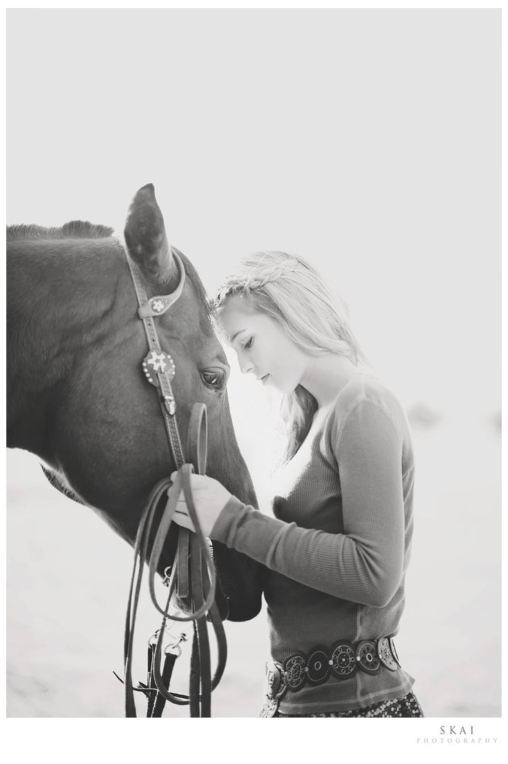 Connectedness... From one of my favourite photographers. Great session idea for a someone with a great love of horses. I love the connection you can see between the girl and the horse, just beautiful! Photo by Skai Photography.(www.skaiphotographyblog.com)