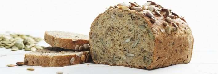 Glutenfritt, fiberrikt brød