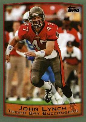 RARE 1999 TOPPS JOHN LYNCH TAMPA BAY BUCCANEERS MINT