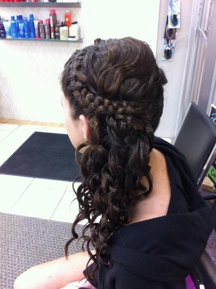 013 Side Braid Updo Prom Hairstyles Idesa For Long Hair 19