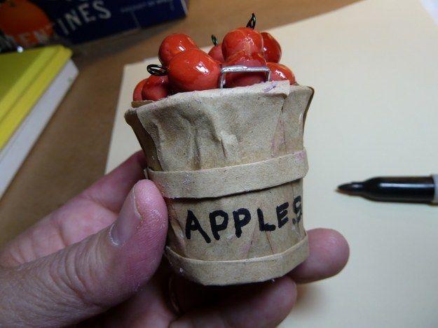 Make the world's tiniest bushel of apples. | 33 Genius Ways To Reuse Your K-Cups
