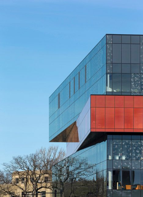 Halifax library by Schmidt Hammer Lassen comprises four stacked blocks.