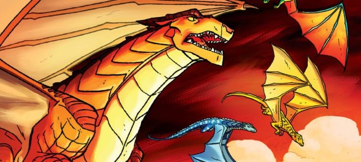 Tui Sutherland's immensely popular fantasy series Wings of Fire is coming to comics with an adaptation by Mike Holmes.