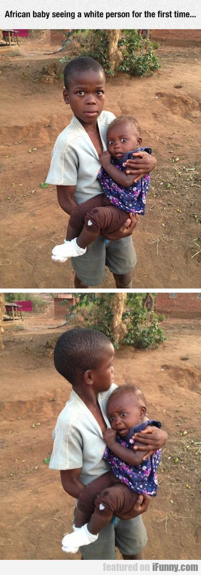 African Baby Seeing A White Person For The First.. #Funny-Pics http://www.flaproductions.net/funny-pics/african-baby-seeing-a-white-person-for-the-first/8569/?utm_source=PN&utm_medium=http%3A%2F%2Fwww.pinterest.com%2Falliefernandez3%2Fgreat%2F&utm_campaign=FlaProductions