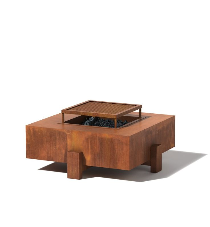 Yard Art   Square Patio Fire Pit, $1,390.00 Comes In A Bunch Of Bright  Colors