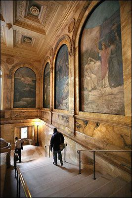Tour the Boston Public Library. There is a free Art and Architecture Tour of the building Mondays at 2:30 p.m., Tuesdays and Thursdays at 6 p.m. and Fridays and Saturdays at 11 a.m.