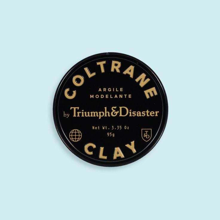 Argile coiffante à tenue ferme Coltrane de Triumph & Disaster