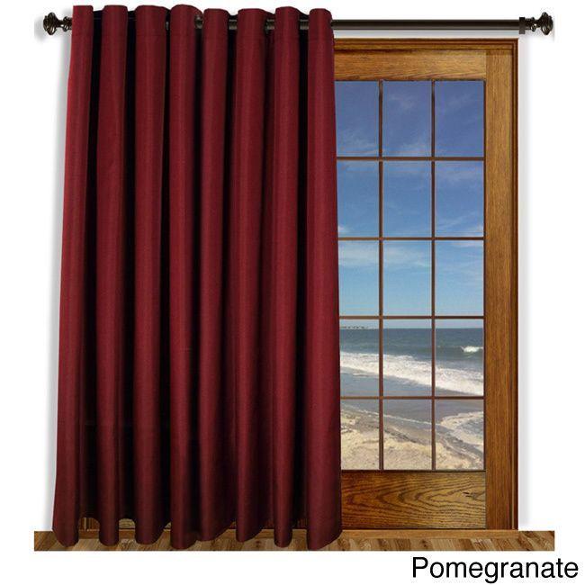 Ricardo Glasgow Grommet 84inch Extra Wide Curtain Panel