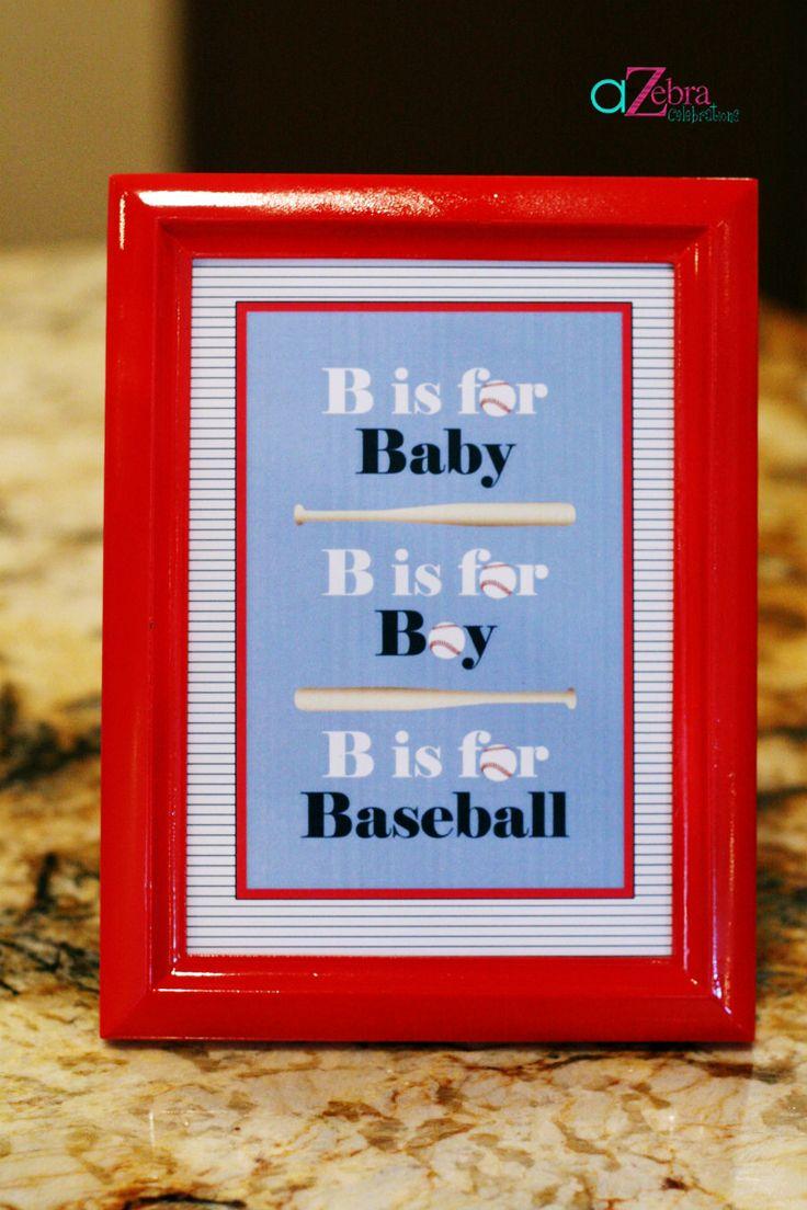 baby sign 1 baseball themed baby