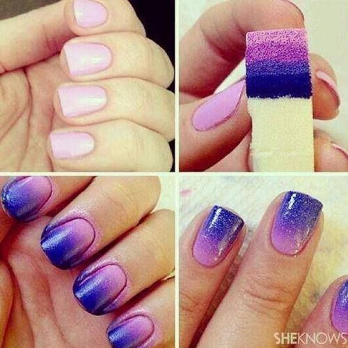 Easy Ombre Effect