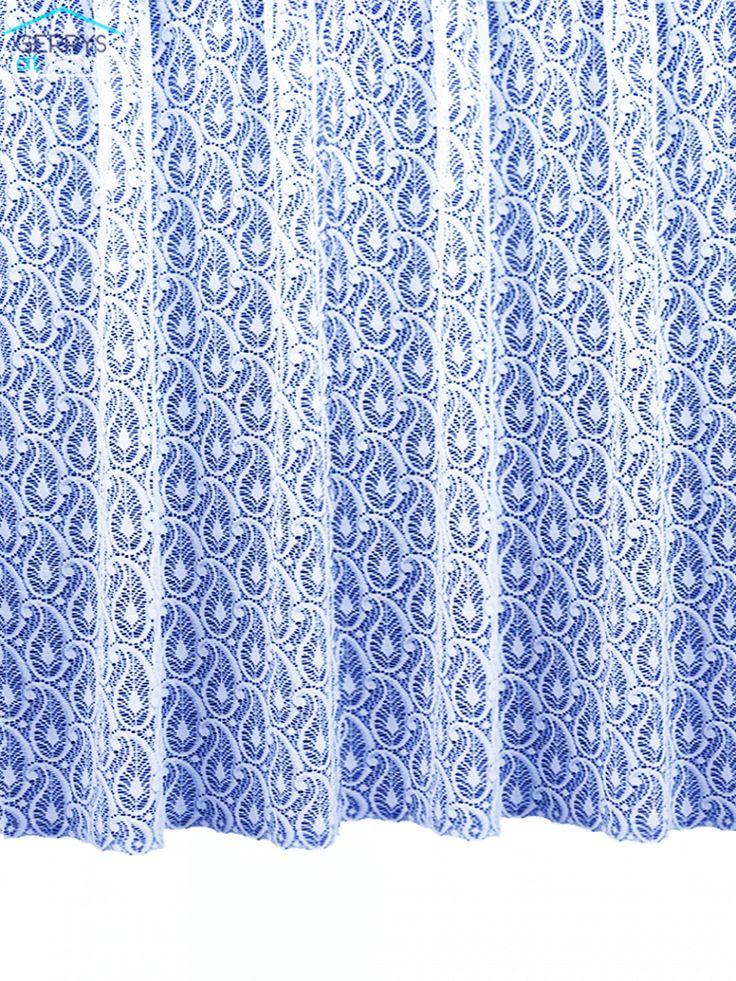 Paisley Net Curtain
