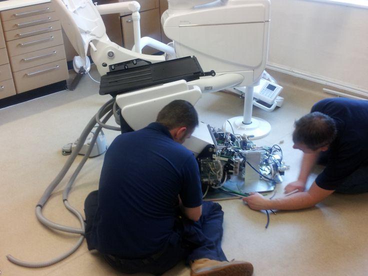 montaggio Dental unit CASTELLINI