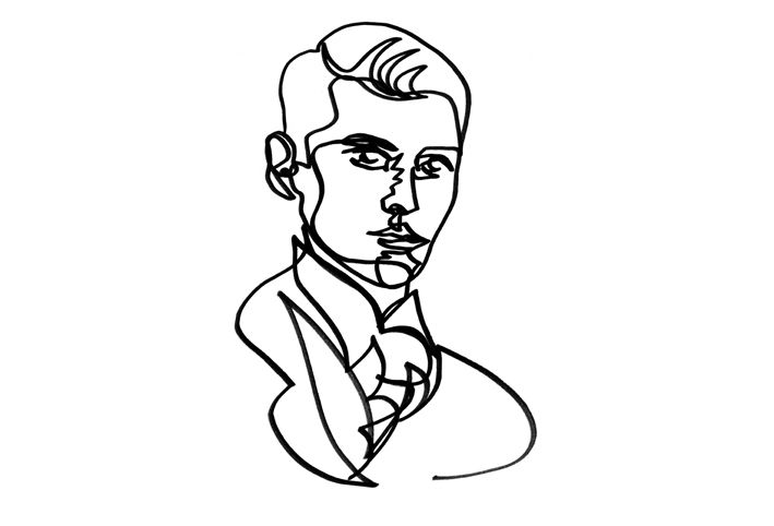 One Line Drawing Quibe : Best images about faces on pinterest galleries
