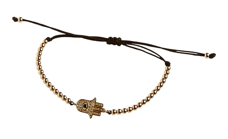 Anil Arjandas Charms - Hamsa with Gold Beads - CH-HM-MMBM-PG-1377 : Boutique dos Relógios