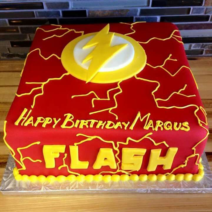 The Flash Cake