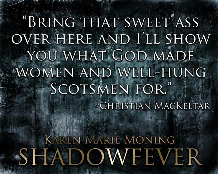 Christian Mackeltar, Fever series Karen Marie Moning