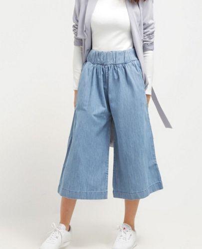 Wåven RAE Spodnie materiałowe sky blue