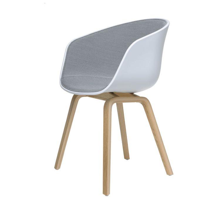 Awesome About A Chair AAC Spiegelpolster Stuhl lackiert hellgrau Jetzt bestellen unter