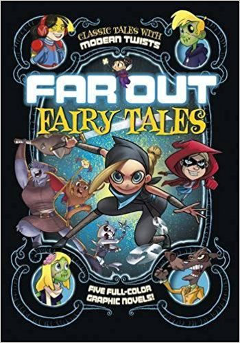 Far Out Fairy Tales: Five Full-Color Graphic Novels: Louise Simonson, Otis Frampton, Benjamin Harper, Joey Comeau, Sean Tulien, Fern Cano, Jimena Sanchez S., Omar Lozano: 9781496525116: Amazon.com: Books