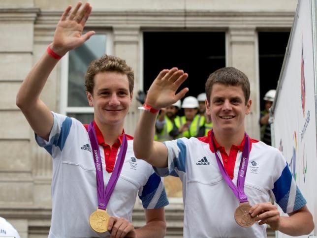 Brownlee brothers lead British Triathlon challenge