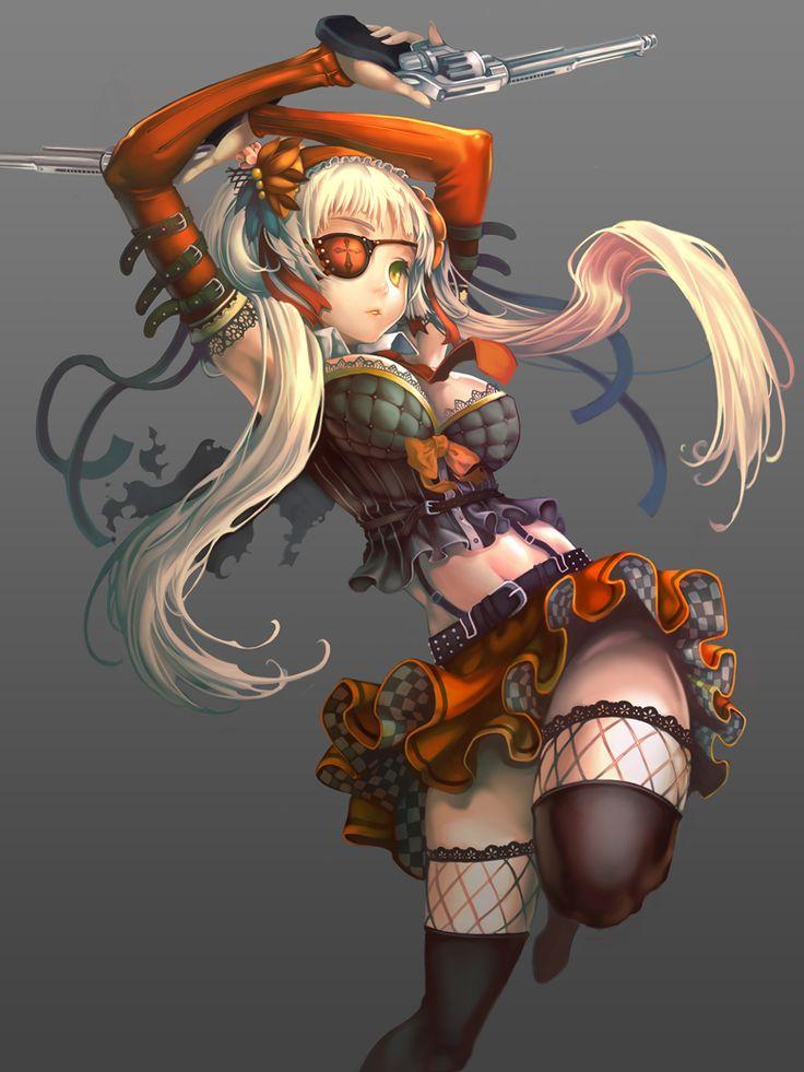 Anime Character 777 : Foocon art ladies pinterest design digital and eyes