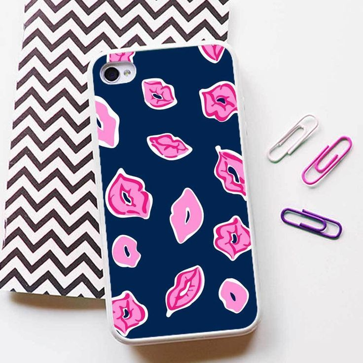 Lilly Pulitzer Kiss Case for iPhone 4 5 6 6plus 6s 6s plus Rubber/TPU Plastic #UnbrandedGeneric