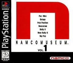 Namco Museum Vol. 1 - PS1 Game