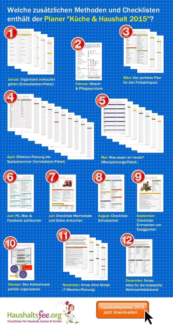 Simple Hilfreiche Checklisten f r deinen Haushalt