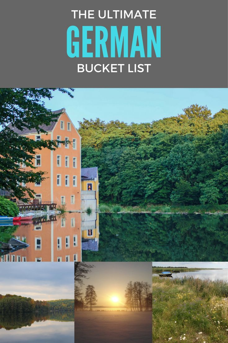 Travel bloggers from Germany and around the world have come together to create the ultimate German bucket list to inspire you and help you plan your next trip to Germany.