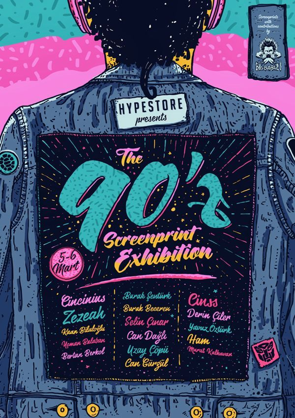 Born in 80's, grew up in 90's but still kids today. 90'z is a screenprinted poster exhibition inspired by 90's pop culture and cartoons. 16 kidults printed their own posters with their bare hands. Hand printed posters are limited edition of 20 and will be…