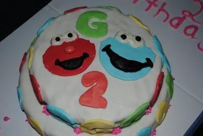 Sesame Street Cake w/Marshmallow Fondant Recipe