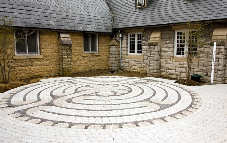 Parishioners at Christ Church, Blacksburg, VA have installed and blessed a labyrinth as a gift to the community in response to the 2007 Virginia Tech shooting tragedy.