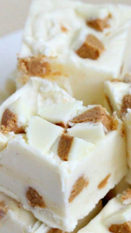 White Chocolate Reeses Fudge Recipe