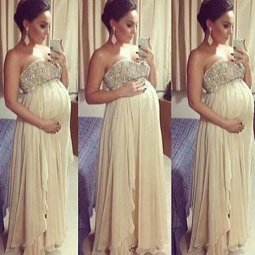 How do I find this? If I'm pregnant when I get married this is it! I love the asymmetric skirt and beaded bodice.