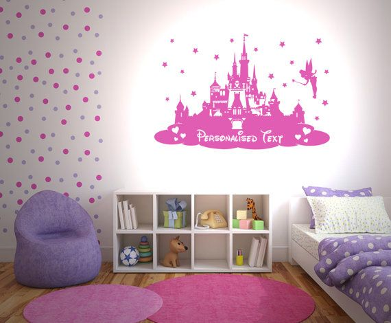 Disney Princess Castle Personalised Wall By TheStickerStop Part 46