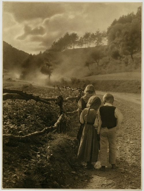 poboh:  Leaving, 1934, Otmar Schick.