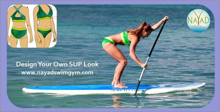 Still paddling! #nayadswimgym, #athleticswimwear, #SUP, #sportsbrabathingsuits. www.nayadswimgym.com — with Mere Bleier.