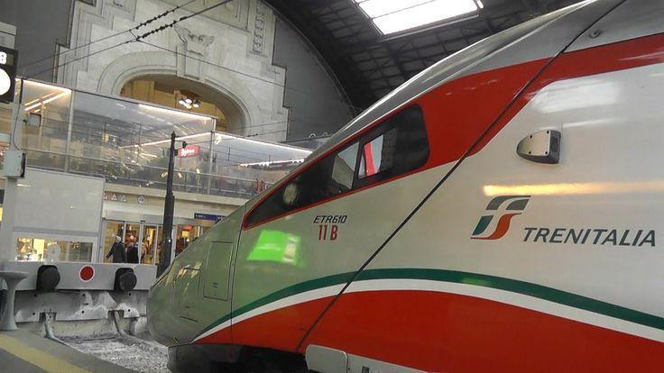 Milan to Zürich by Trenitalia EuroCity