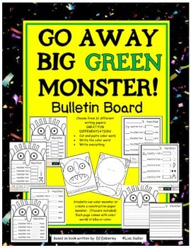 The Big Green Monster Teaches Phonics in Reading and Writing