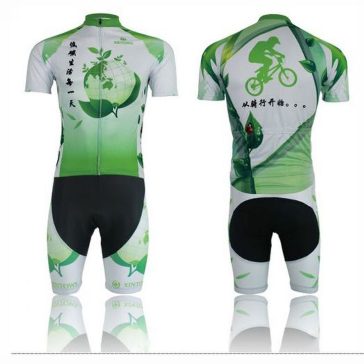 XINTOWN Women pro Bike Jerseys Shorts Sets  Green Life  Cycling short clothing Suits Ropa Ciclismo bicycle mtb Top bottom Suits #Affiliate