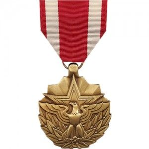 The Meritorious Service Medal (MSM) is a decoration presented by the United States Armed Forces to recognize superior and exceptional non-combat service that does not meet the caliber of the Legion of Merit Medal. As of September 11, 2001, this award may also be issued for outstanding service in specific combat theater. The majority of recipients are field grade officers, senior warrant officers, senior non-commissioned officers and foreign military personnel in the ranks of O-6 and below.