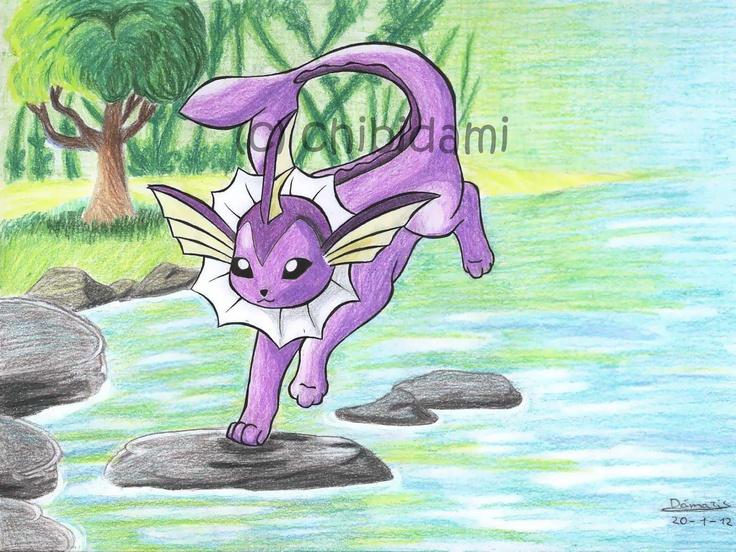 Pokemon Shiny Vaporeon